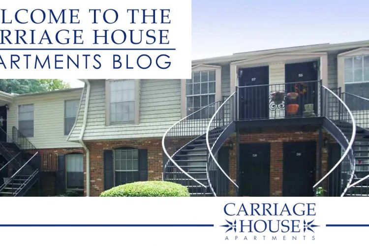 Welcome to the Carriage House Apartments Blog