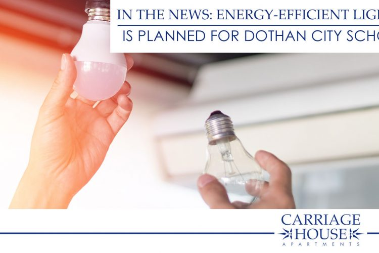 In the News: Energy-Efficient Lighting is Planned for Dothan City Schools