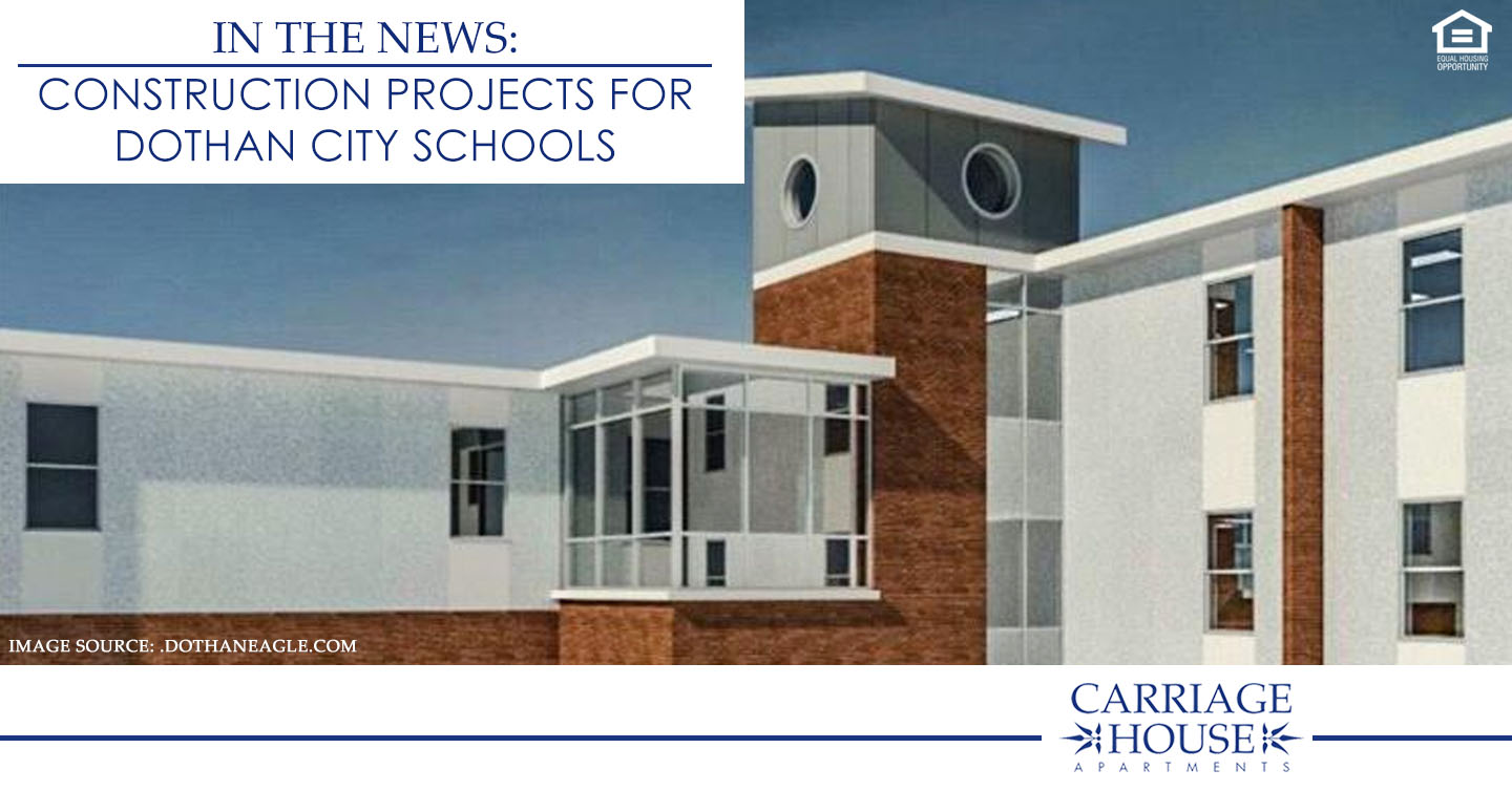 new construction projects for Dothan City Schools