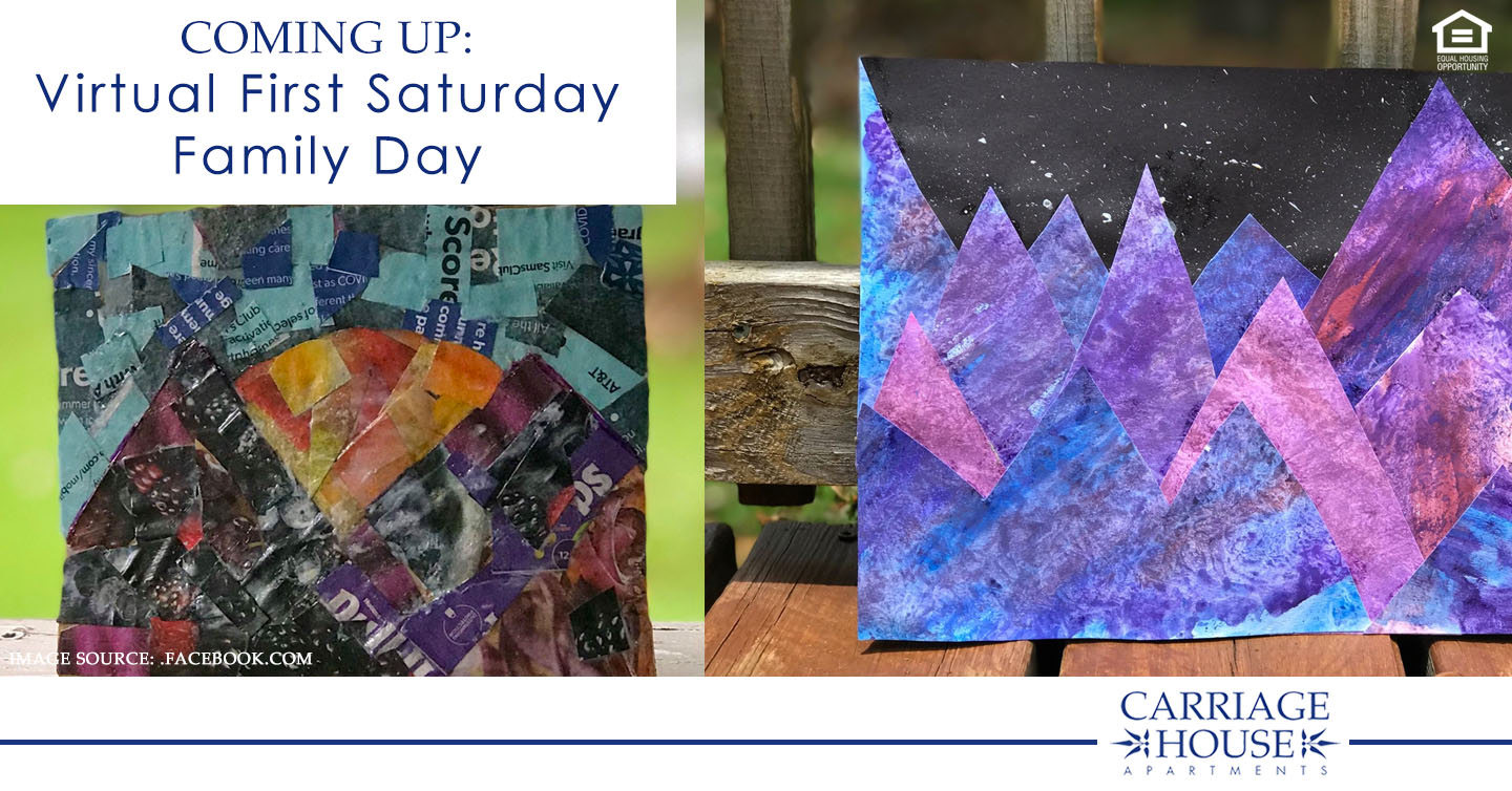Coming Up: Virtual First Saturday Family Day