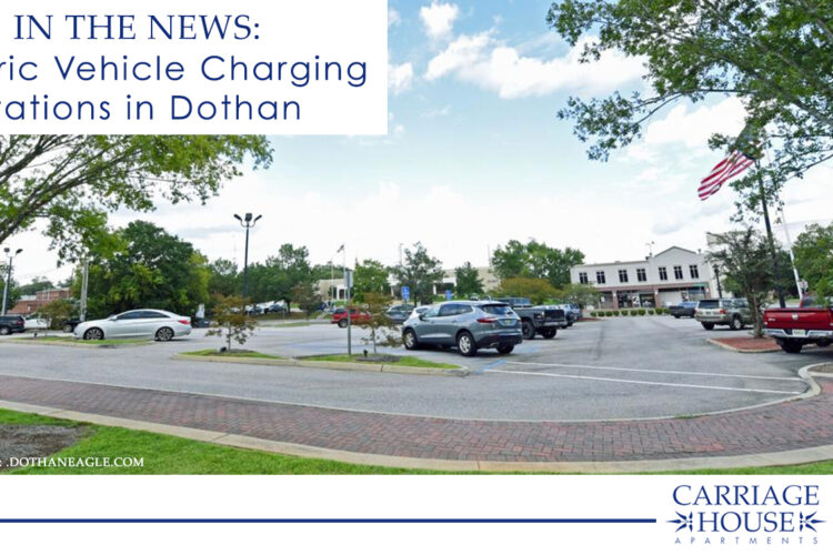 In the News: Electric Vehicle Charging Stations in Dothan