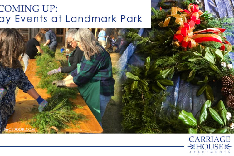 Coming Up: Holiday Events at Landmark Park