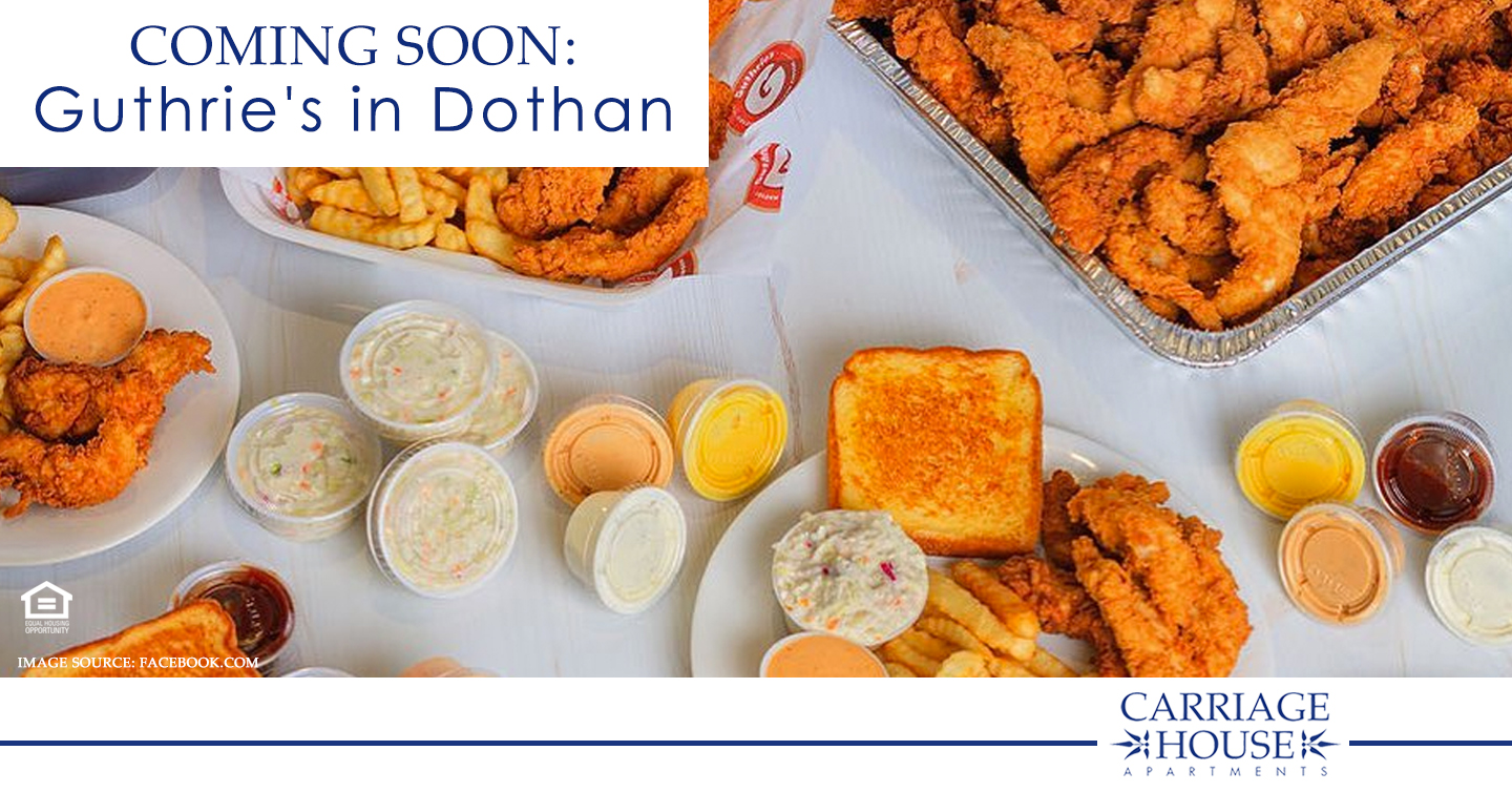 Coming Soon: Guthrie's in Dothan