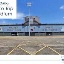 upgrades to Rip Hewes Stadium