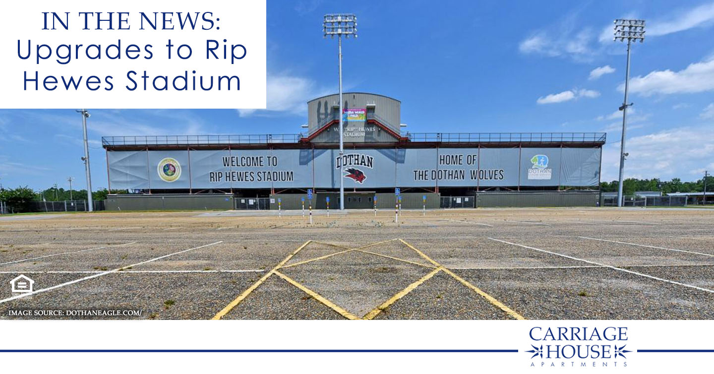 In the News: Upgrades to Rip Hewes Stadium